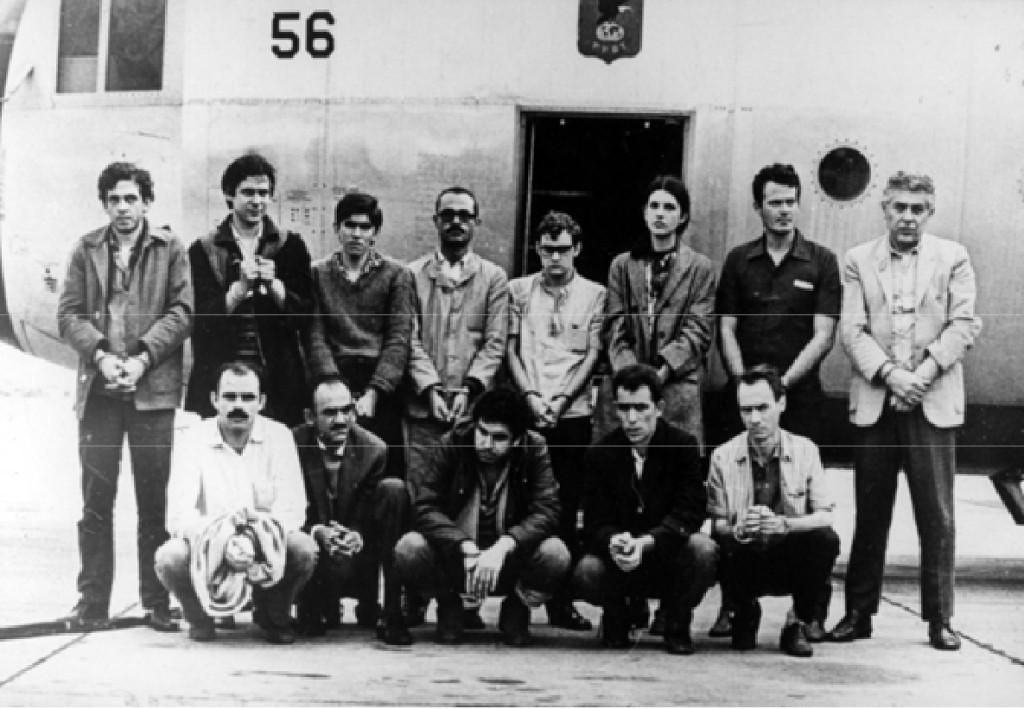 Presos políticos libertados em troca do embaixador americano Charles Elbrick  em 1969