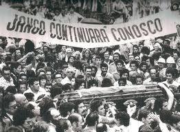 O enterro de Jango em São Borja