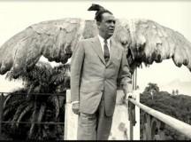 As asas de Juscelino, foto publicada na revista O Cruzeiro