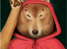A ilustração Lobo, de Renato Moriconi, integra a exposição