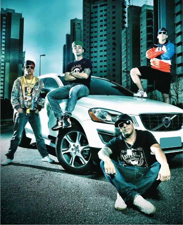 As bandas de funk ostentação, populares na periferia, exaltam o Deus Grana (fonte: revista Época)