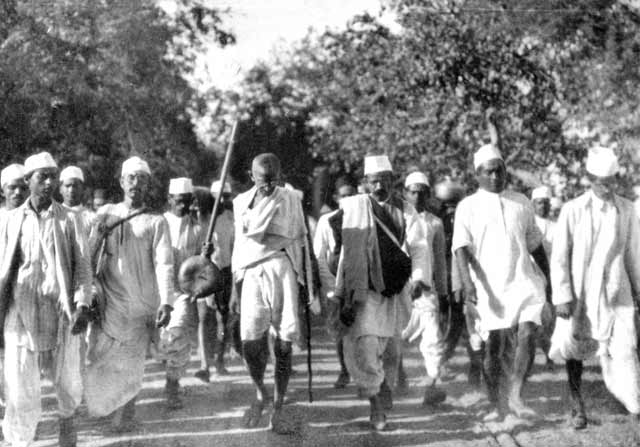Gandhi na Marcha do Sal