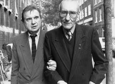 5 de fevereiro Francis Bacon and William Burroughs London 1989 John Minihan Cem anos do beat William Burroughs