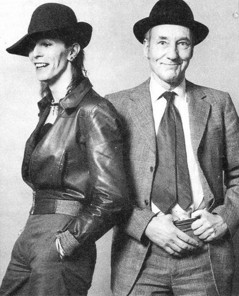 Em 1974, Burroughs entrevistou David Bowie para a Rolling Stone norte-americana