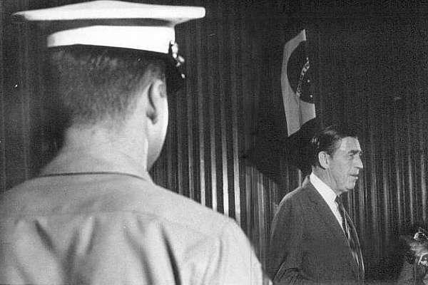 Charles Elbrick em foto de 1969 (fonte: Arquivo do jornal O Estado de São Paulo)