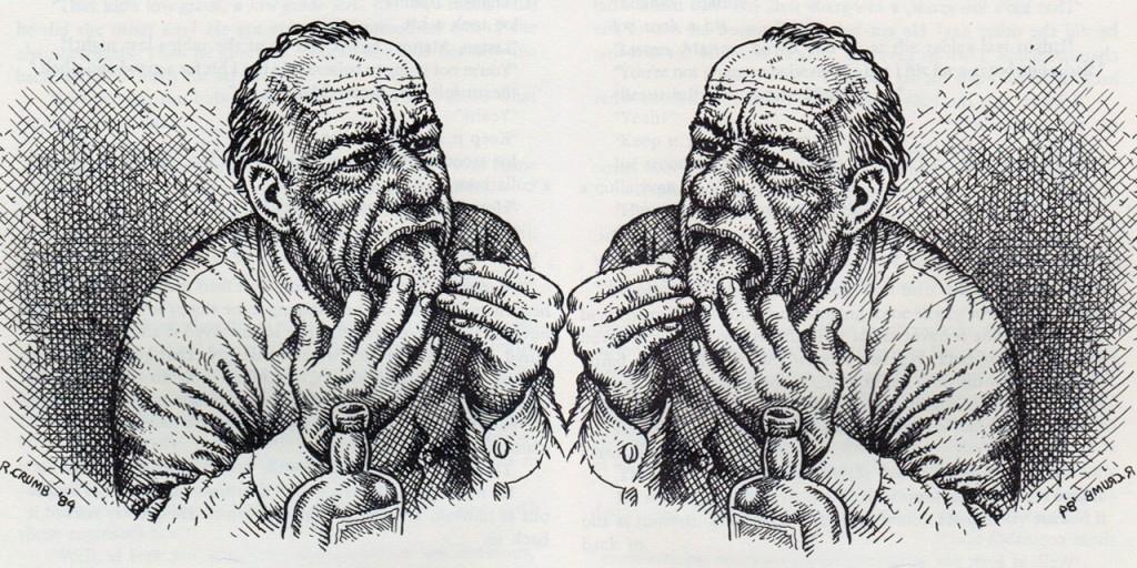 9 de março Bukowski por Crumb