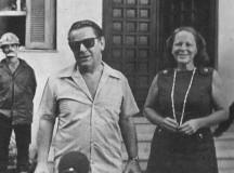 O embaixador suíço Giovanni Enrico Bucher