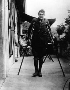 21 de julho Ernest_Hemingway primeira guerra foto 2