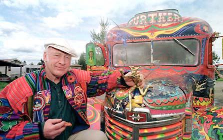 Ken Kesey ônibus further