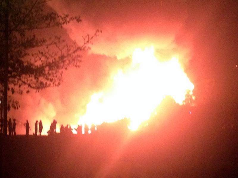 8 de setembro incêndio zona sul foto 5