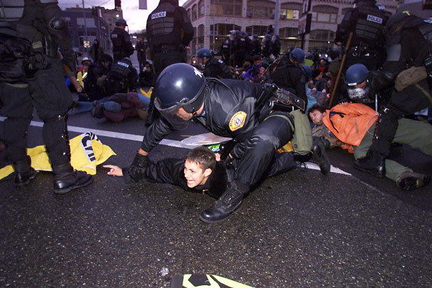 protestos seattle 1999