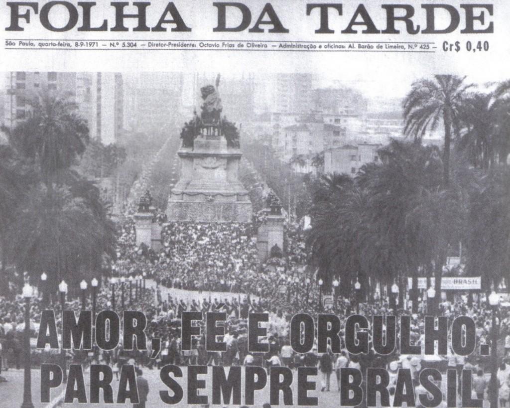 ditadura militar folha da tarde