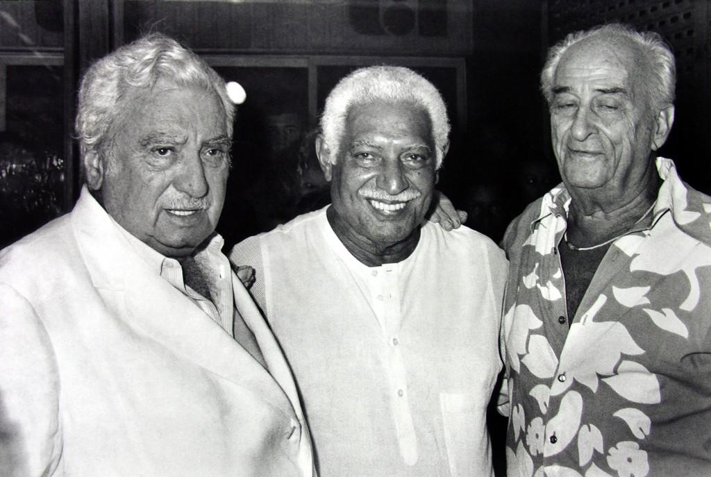 Jorge Amado, Dorival Caymmi e Carybé