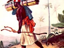 Jean-Baptiste Debret retrata um escravo de origem muçulmana