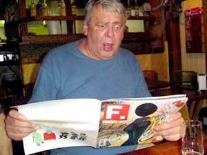 O jornalista e escritor Fausto Wolff (fonte: Blog do Mesquita)