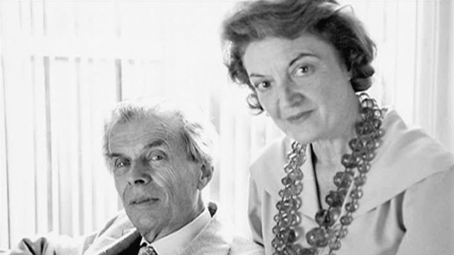 huxley e esposa