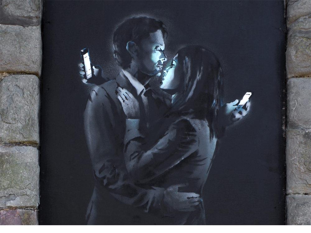 grafite banksy