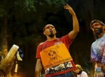 Manifestantes contra a Monsanto no Rio de Janeiro (fonte: Reuters)