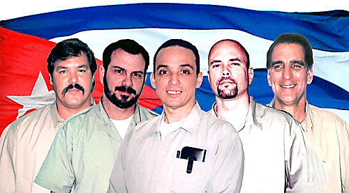 5 herois cubanos