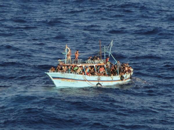 deriva refugiados