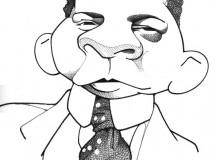 O escritor Lima Barreto pelo desenhista Cássio Loredano
