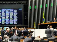 Painel da Câmara dos Deputados exibirá nome dos achacadores
