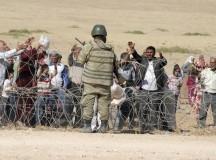 O arame farpado não nos afasta do desespero dos refugiados