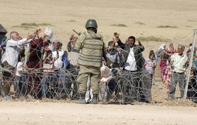 refugiados oriente médio