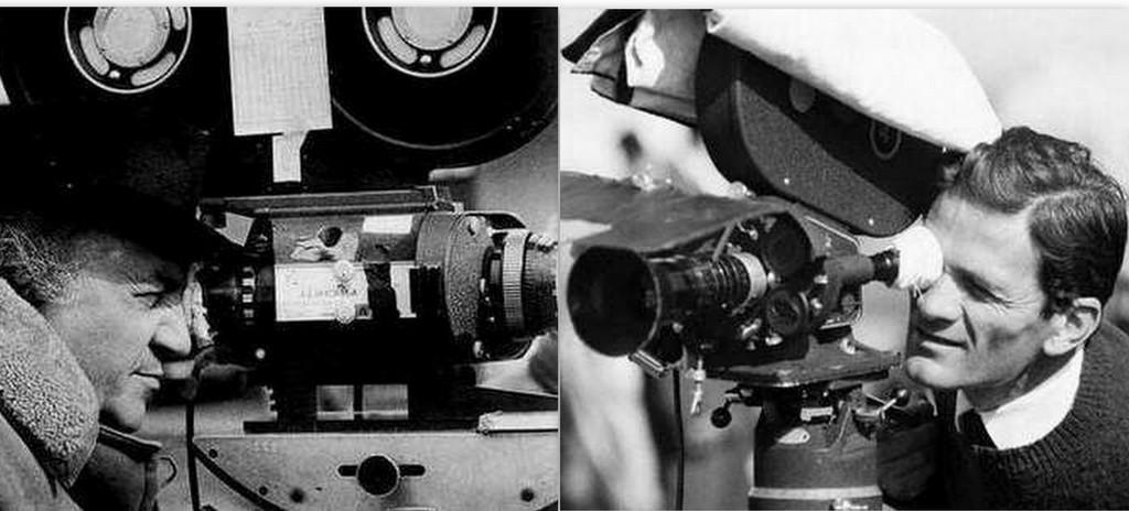 Federico Fellini e Pier Paolo Pasolini