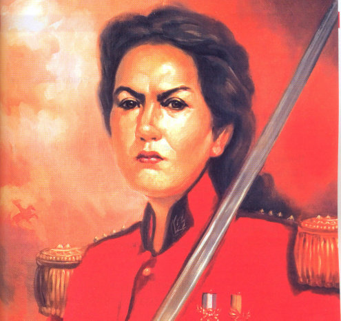 juana azurduy guerreira bolívia
