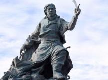 Estátua de Juana Arzurduy em Buenos Aires (fonte: IELA)