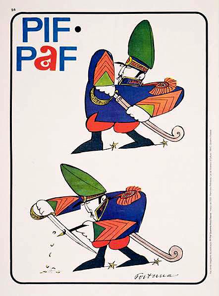 1 de outubro fortuna pif pafontracapa-Militar-apontando-lpis