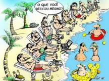 Paraísos fiscais abrigam bilhões em evasão fiscal (foto do blog Democracia & Política)