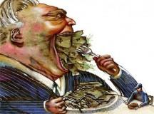 Bilhões e bilhões de reais retirados de áreas essenciais para engordar o sistema financeiro (fonte: Jornalismo B)