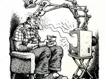 Desenho de Robert Crumb