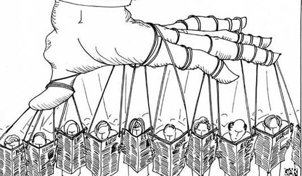 manipulação mídia