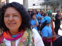 Cáceres recebeu reiteradas ameaças de morte