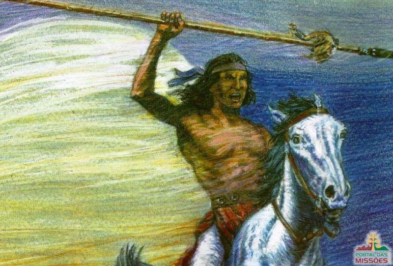 Sepé Tiaraju índio guarani
