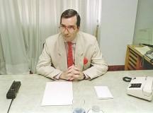 Foto do deputado na época em que ainda não frequentava restaurantes com estrela no Guia Michelin