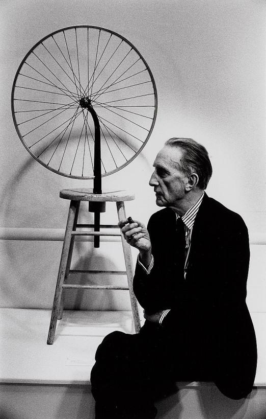 Duchamp e sua Roda de Bicicleta (1913)