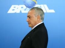 O presidente interino Michel Temer (foto de Marcelo Camargo/ Agência Brasil)