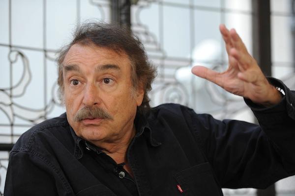 O escritor e jornalista Ignacio Ramonet