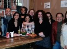 Parte do grupo do Coletivo de Jornalistas Sindicais Vitto Gianotti