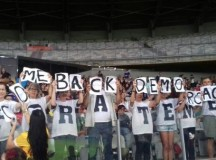 Torcedores protestam contra Michel Temer no Estádio do Mineirão (fonte: Mídia Ninja)