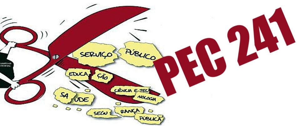 Alguns diagnósticos sobre a PEC 241