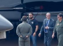 O deputado Eduardo Cunha no momento de sua prisão no dia 19 de outubro