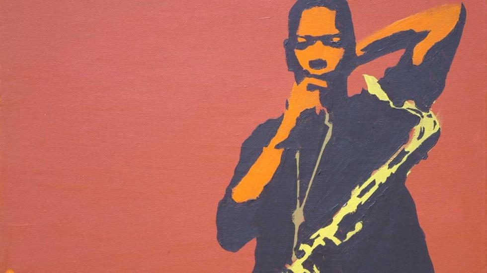 O saxofonista norte-americano John Coltrane