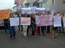 Esposas e familiares dos PMs se movimentam contra o arrocho e a insegurança