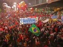 Manifestação contra o impeachment em 2016