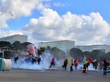 Protesto ontem em Brasília (fonte: UGT)